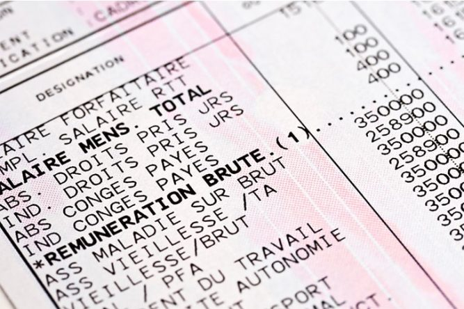dd1105b8716 Pension de retraite   le bulletin de salaire